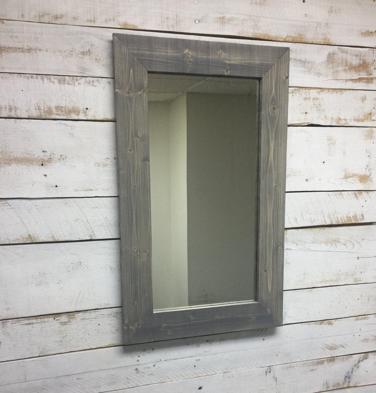 Rustic Mirror Rustic Decorative Mirror Bathroom