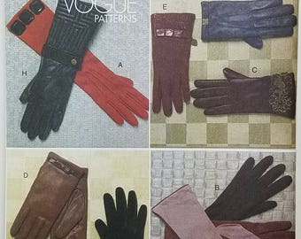 Ladies Glove Pattern. Uncut. Vogue Accessories V8608