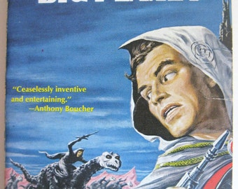 Big Planet by Jack Vance - 1957 Science Fiction paperback - Ace Books