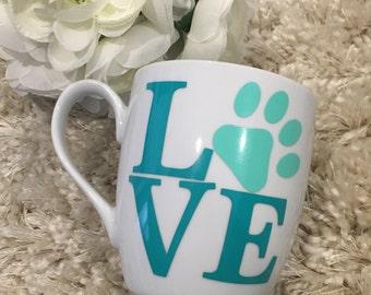 Pet Love Mug