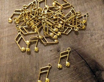 Musical Notes Charms