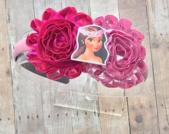 Moana Headband-Moana Bow-Disney Princess Moana Bow-Moana Birthday-Moana-Moana Bow-Moana Headband-Moana Party-Disney Vacation