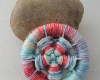 Dorset button flower brooch, pin