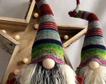 "Swedish Tomte Nordic Nisse ""Sif"" female Gnome JulTomte Woodland decoration"