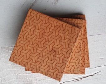 Weave Design  Coaster Set
