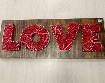 LOVE, String Art