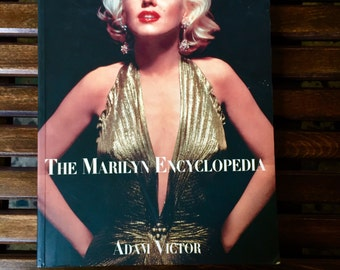 Signed Copy The Marilyn Encyclopedia by Adam Victor - Signed by George Barris, Photographer