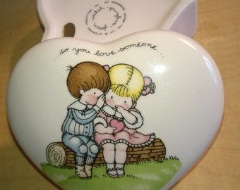 Heart Box Ceramic Joan Walsh Anglund Free Shipping