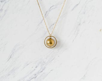 ASTRON | Sphere Pendant Necklace