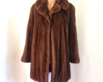 1960's Luxe Sable Fur Jacket/ Coat