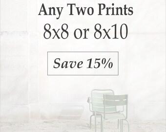 Set of 8x8 or 8x10 Prints - Paris Prints, Paris Photography, Gallery Wall, Discount Paris Set, Discount Photos, Photo Gift Set