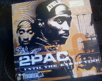 "2pac until the end of time promo 12"" record lp album"