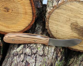 Skinning Knife, Hunting Knife, Survival Knife, Fixed Blade Knife, Camping Knife, Custom Handle, Custom Sheath, Father's Day Gift