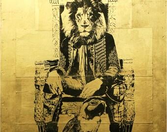 Lion King Frame Etsy