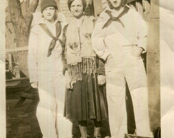 Vintage Photo..Dorothy and Sophie, 1920's Original Found Photo, Vernacular Photography