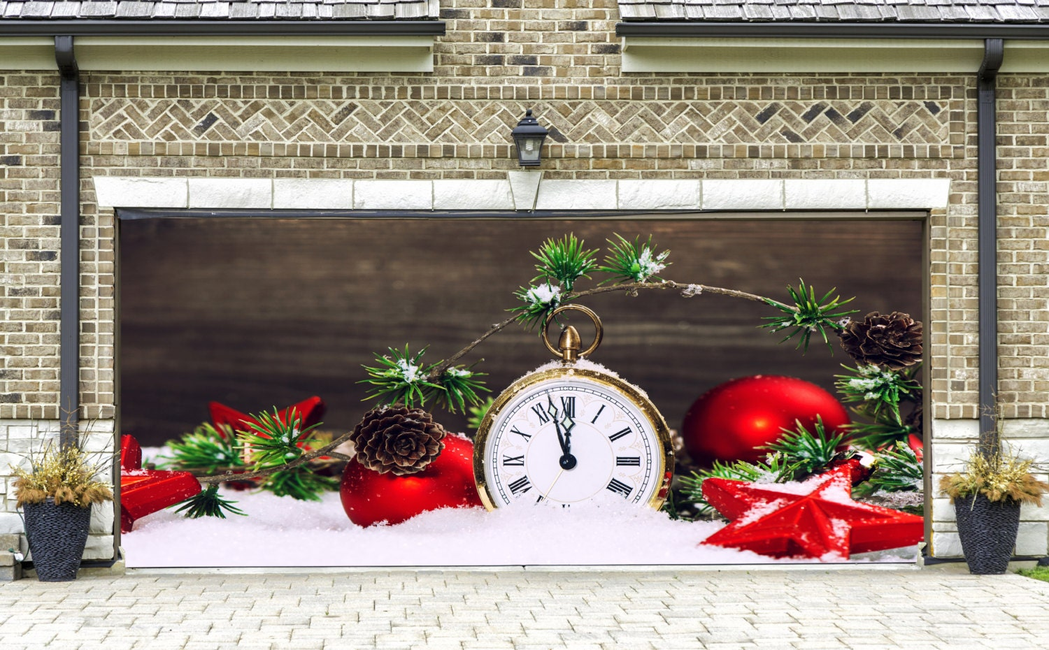 Christmas Garage Door Covers 3d Banners Outside Art By