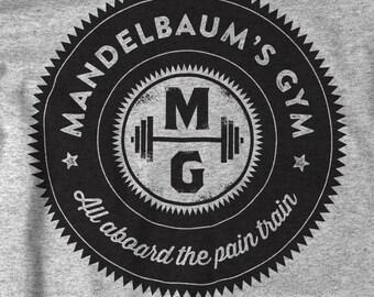 Mandelbaum's Gym T-shirt - Seinfeld Vintage Style Shirt - Small - 5Xl - Unisex