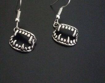 Vampire Fang Earrings