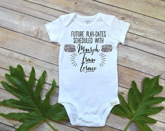 Crossfit Baby, Future Play Dates Scheduled, Baby Shower Gift, Crossfit Gift, Crossfit Bodysuit, Crossfit Baby shirt, Crossfit Shirt,Crossfit