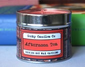 Afternoon Tea Candle UK. Scones, Clotted Cream and  Strawberries, Scented Candle. Soy Candles UK. Soy Candle. Geeky Gifts. Candles.