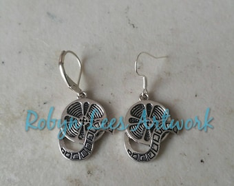 Small Silver Movie Film Reel Charm Earrings on Hooks or Leverbacks. Cinema, Theatre, Producer, Director, Actor
