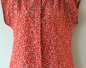 Super sweet 1980s Marks and Spencer St. Michael Blouse