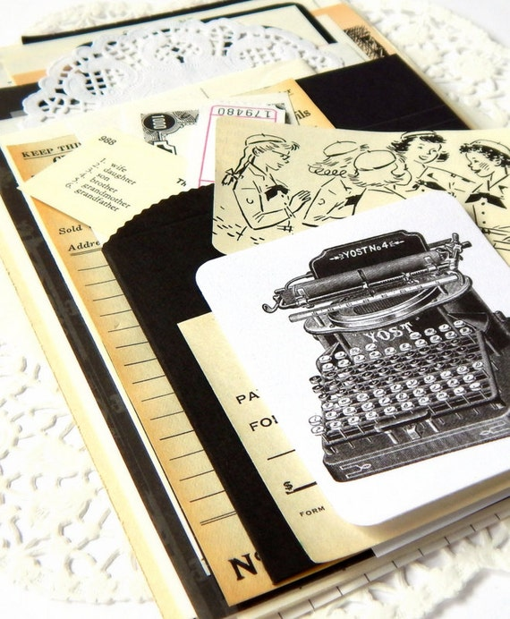 Black And White Ephemera Pack. Vintage Ephemera. Paper Pack. Junk Journal Paper. Scrapbook Ephemera. Journal Supply. Embellishment Kit.