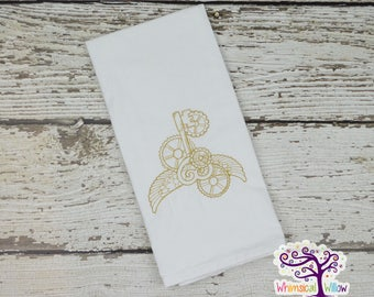 Steampunk Kitchen Towel