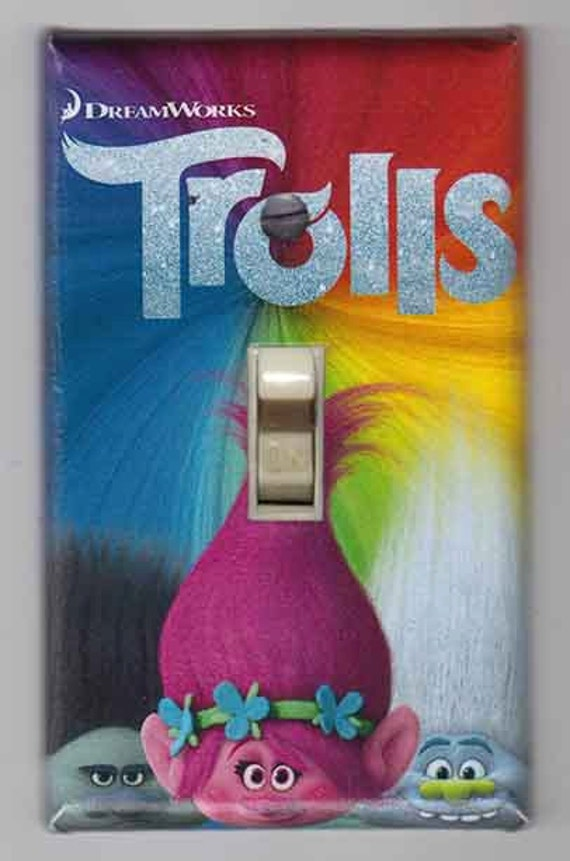 Trolls Decorative Light Switch Covers