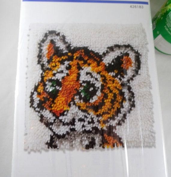 Wonder Art Latch Hook Kit Tiger Cub # 426183 Free Shipping