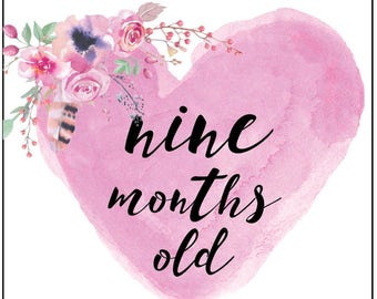 Little Girl Week/Monthly Cards