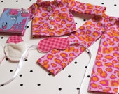 Small Doll Pajama Set