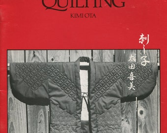 Sashiko Quilting Garments, Kimi Ota, Japanese quilting method, traditional Japanese