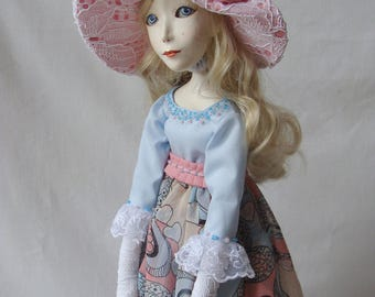 Artist doll collector's doll, art doll