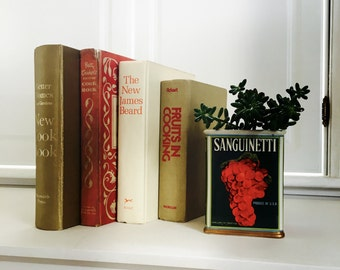 Vintage Cookbook Set, Better Homes, James Beard, Instant Library, Old Cookbooks