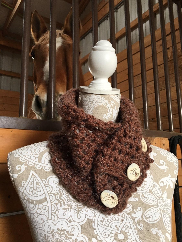 Cripple Creek Cowl -- a loom knit pattern