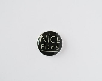 nice films - brooch