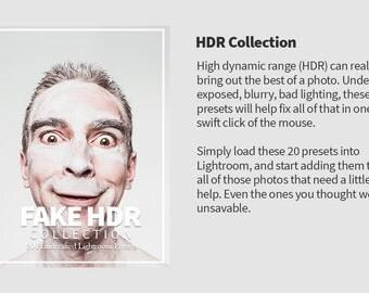 20 HDR Lightroom Presets For Image Retouching