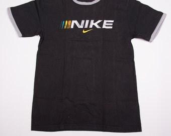 Vintage Nike Swoosh 90s Logo Tshirt
