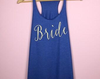Bride Tank Top. Bride Gift. Bachelorette Party. Bachelorette Party Shirts. Wedding Tank Tops. Bride Tank Top. Bridal Party Shirts. Tank Top.