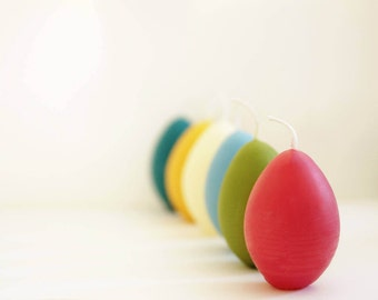 Easter Votives, Egg Candle, Beeswax Egg, Easter Eggs, Easter Egg Candle, Easter Gift