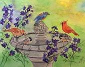 Cardinal Bird Original Wa...