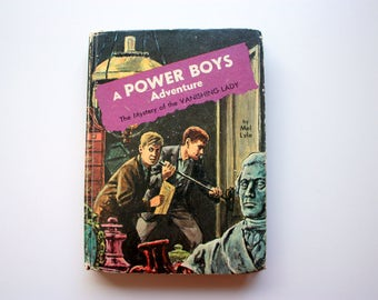 Power Boys Adventure Book - The Mystery of the Vanishing Lady - by Mel Lyle