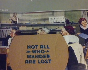 Not all who wander are lost......Kraft pillow boxes