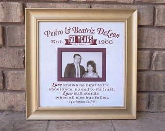 50th anniversary gifts 50th wedding anniversary gifts frame wedding anniversary gift
