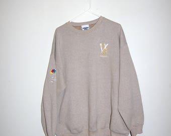 NBC EMMY AWARDS beige sweatshirt size extra large