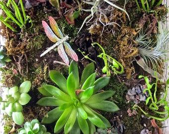 Attractive Dragonfly Garden Stake