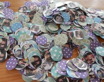 Mini Photos - Personalized Photo Confetti (dime size)