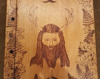 Handmade wooden book - FREE UK SHIPPING!
