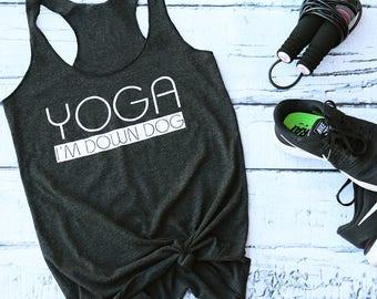 Yoga Tank. Yoga Fitness Apparel.